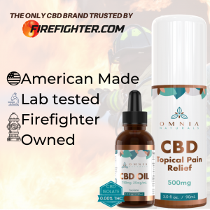 Firefighter owned CBD brand Omnia Naturals